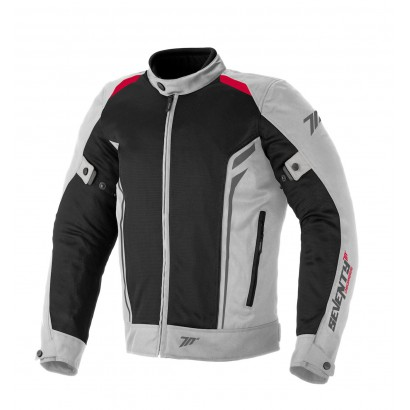 Chaqueta SEVENTY DEGREES SD-JT32 SUMMER TOURING MAN ICE / RED Seventy Degrees - 1