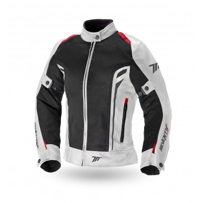 Chaqueta de mujer SEVENTY DEGREES SD-JT36 SUMMER TOURING WOMAN ICE / RED Seventy Degrees - 1