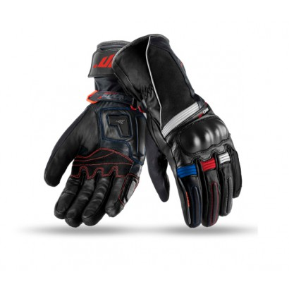 Guantes SEVENTY DEGREES SD-T1 WINTER TOURING MAN BLACK / RED / BLUE Seventy Degrees - 1