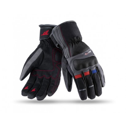 Guantes SEVENTY DEGREES SD-T25 WINTER TOURING WOMAN BLACK / DARK GREY / RED / BLUE Seventy Degrees - 1